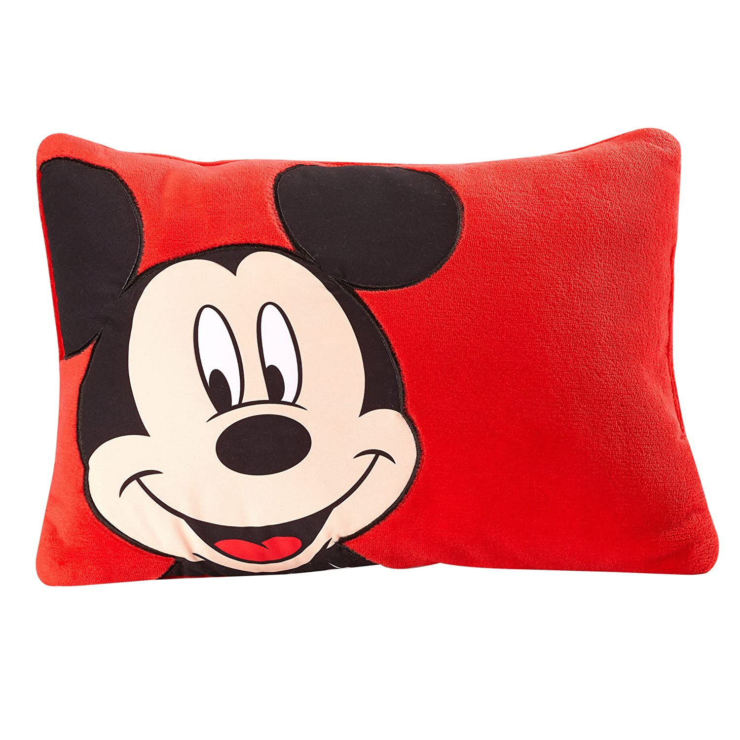Disney Mickey Decorative Pillow, Red