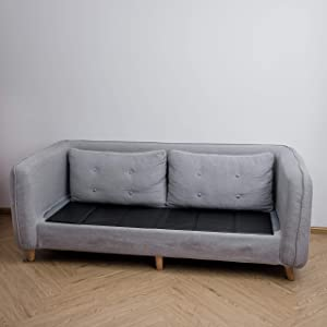 Noble Realm Sagging Sofa Cushion Seat Saver && Adjustable & Sagging Sofa Supporter(Three Seaters/168cm/66)