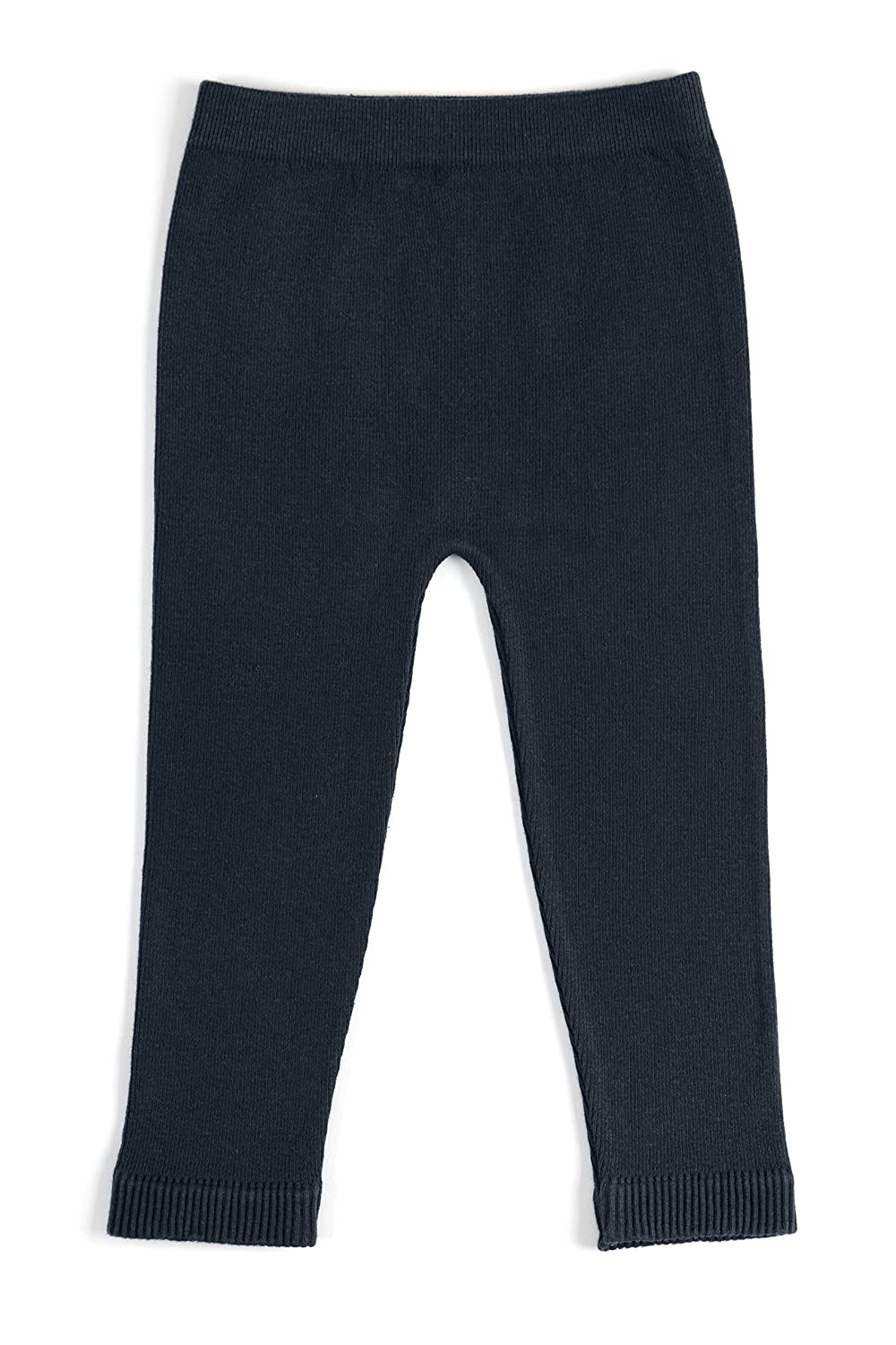 EMEM Unisex Baby Seamless Cotton Leggings in Solid Ribbons or Buttons Bows