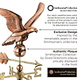 Good Directions Smithsonian Eagle Weathervane, Pure Copper