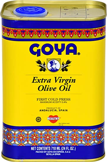 Goya Alimentos Aceite de Oliva Virgen Extra: Amazon.com ...