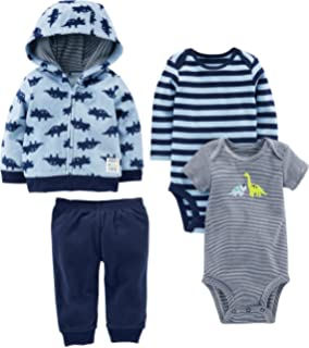 6d464f01d457 Amazon.com  Carter s Baby Boys  Cardigan Sets 121h267  Clothing