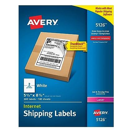 amazon com avery shipping address labels laser printers 200