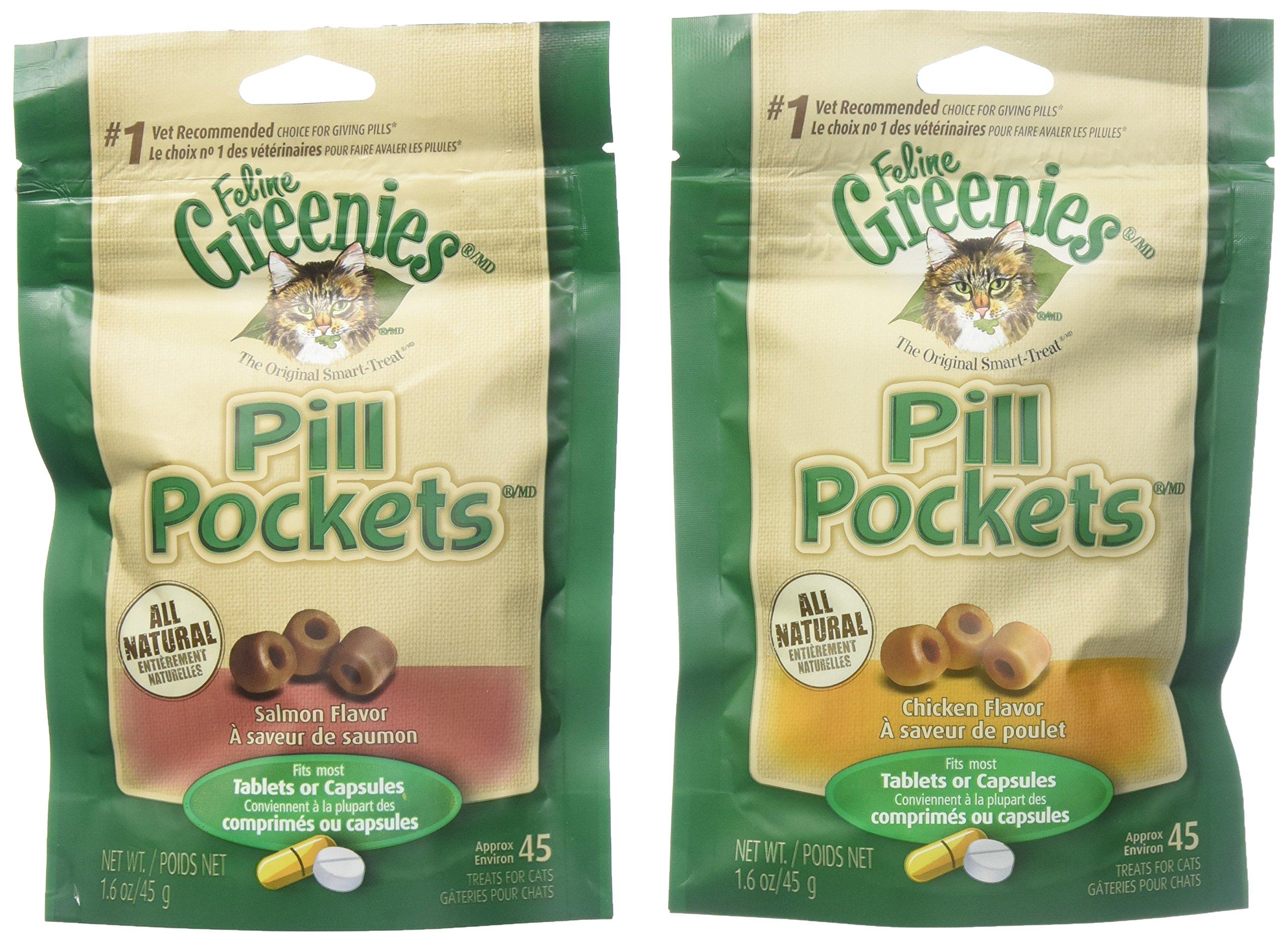 Greenies Pill Pockets - Chicken & Salmon Bundle by Greenies