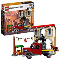 Amazon.com deals on LEGO 6250953 Overwatch Dorado Showdown Building Kit 419-Pcs