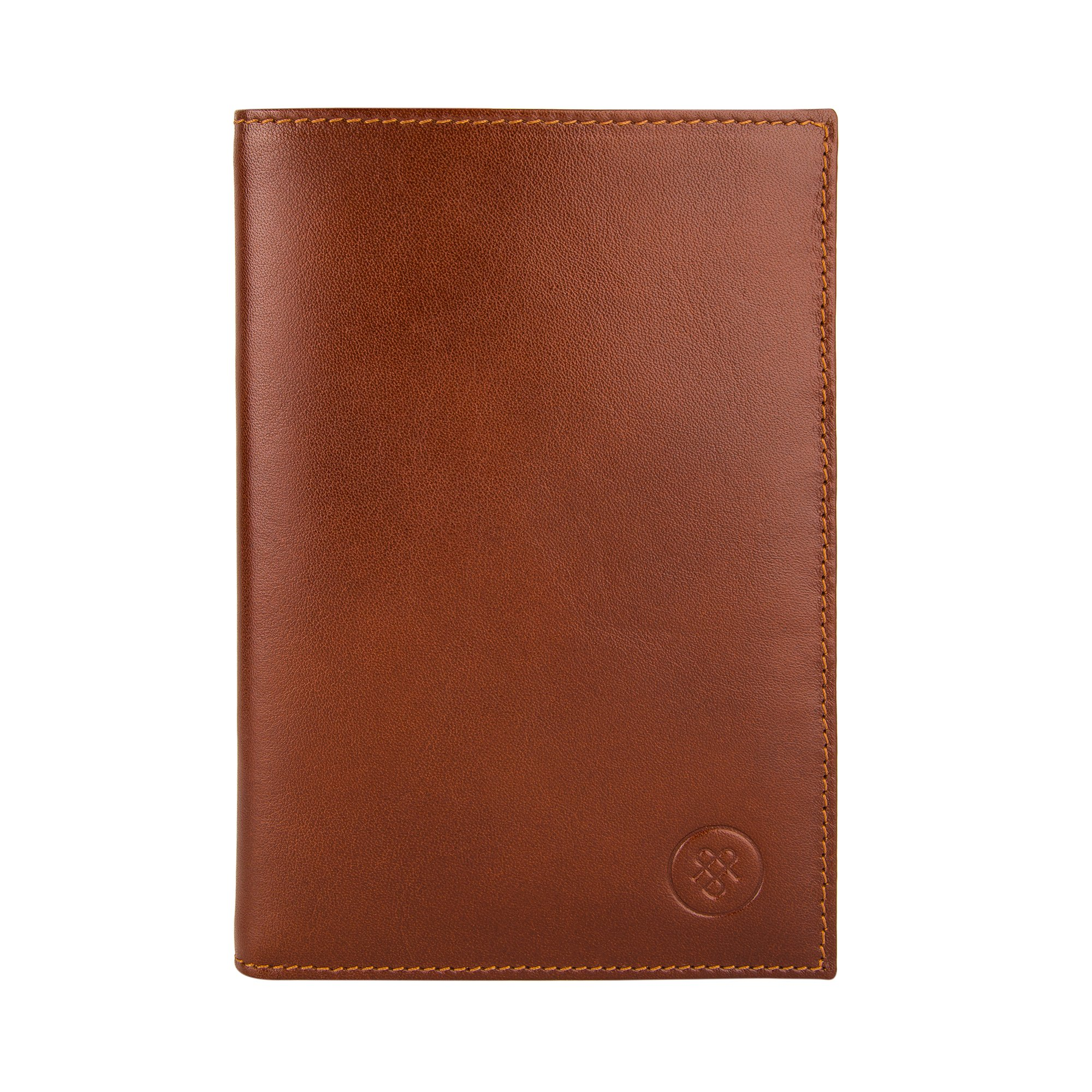Maxwell Scott Luxury Tan Leather Jacket Wallet - One Size (The Pianillo) by Maxwell Scott Bags (Image #3)