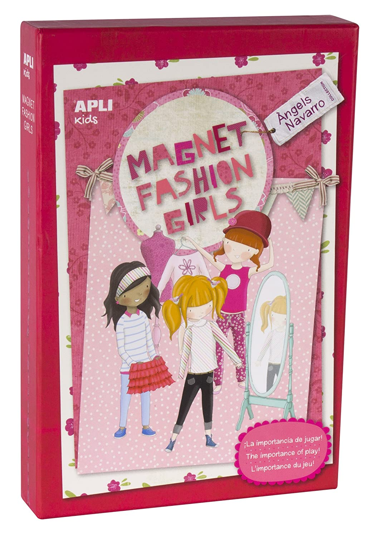 Apli kids Juego Magnet Fashion Girls /Ángels Navarro 14838