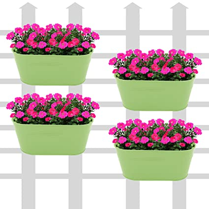 online india with multicolor large balcony primary planters set oval trustbasket of railing planter collections plastic free dotted buy pots in
