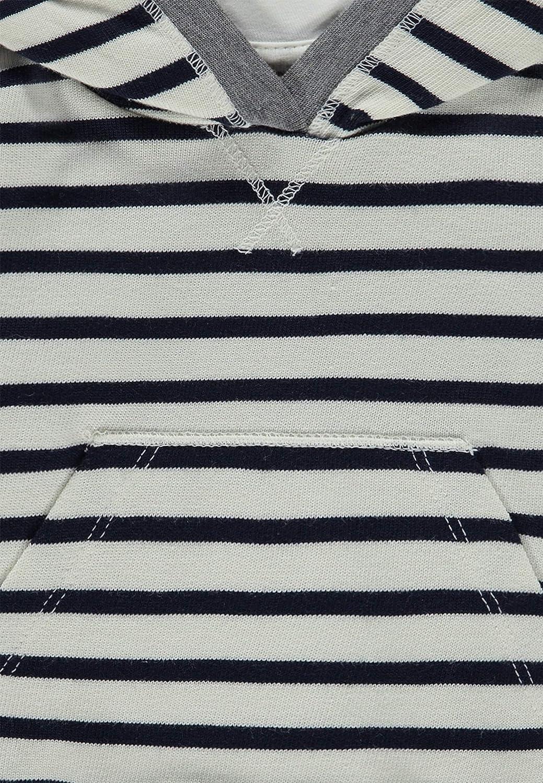 Navy Blazer 3105 Kapuze 104 Blau Bellybutton Mother Nature /& Me Jungen Sweatshirt 1//1 Arm m