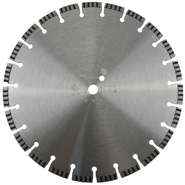 PRODIAMANT Qualit/é Premi/ère Disque /à tron/çonner diamant B/éton Laser 350 x 25,4 mm PDX821.711 350mm