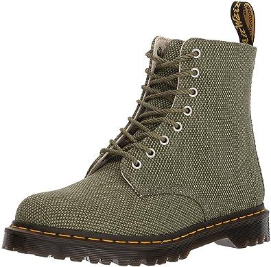ef4c91f2af93 Dr. Martens Olive Military Canvas Pascal Fashion Boot 3 Medium UK (US  Women s 5