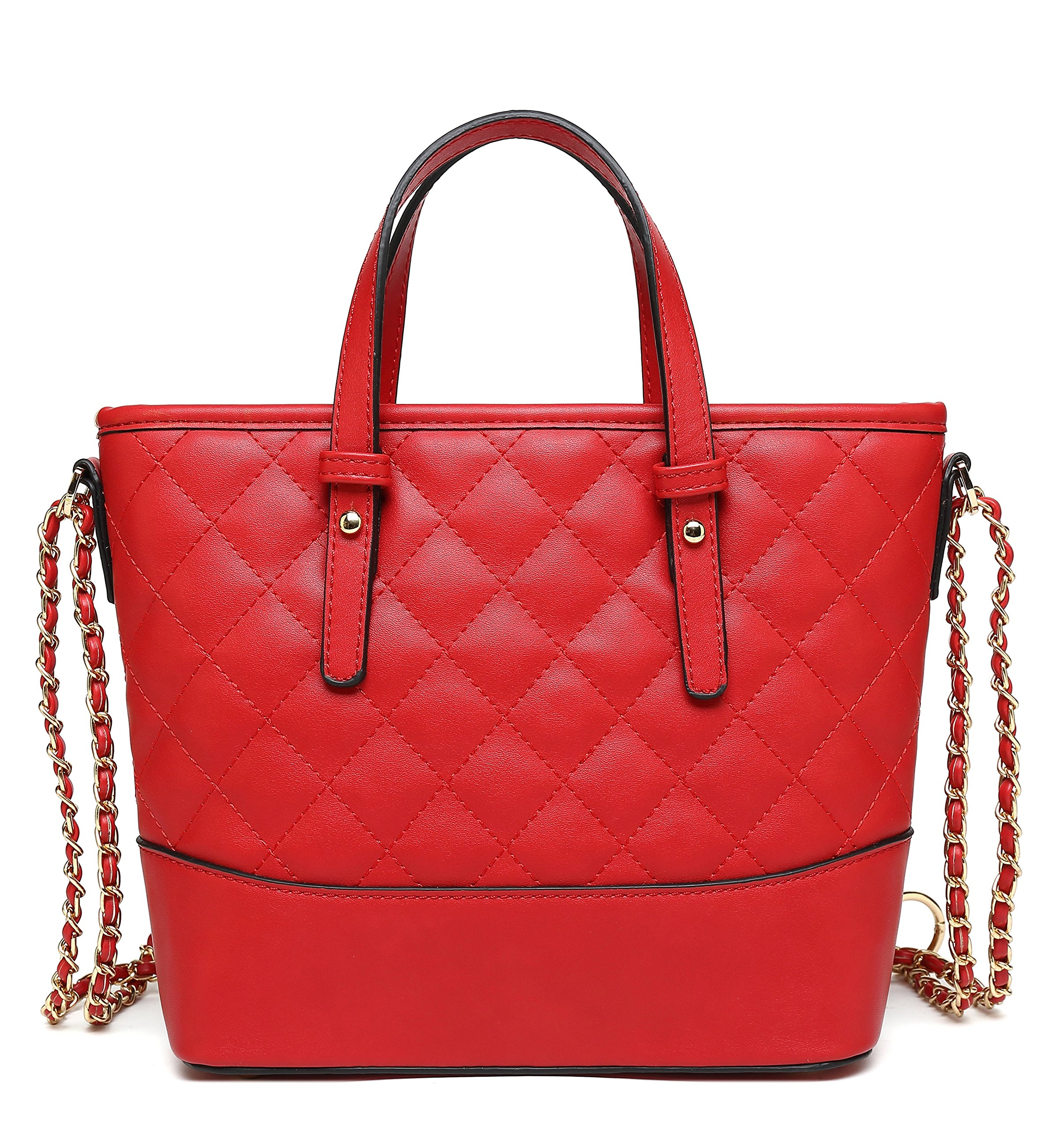 Scarleton Chic Quilted Satchel H1048207110 - Red C