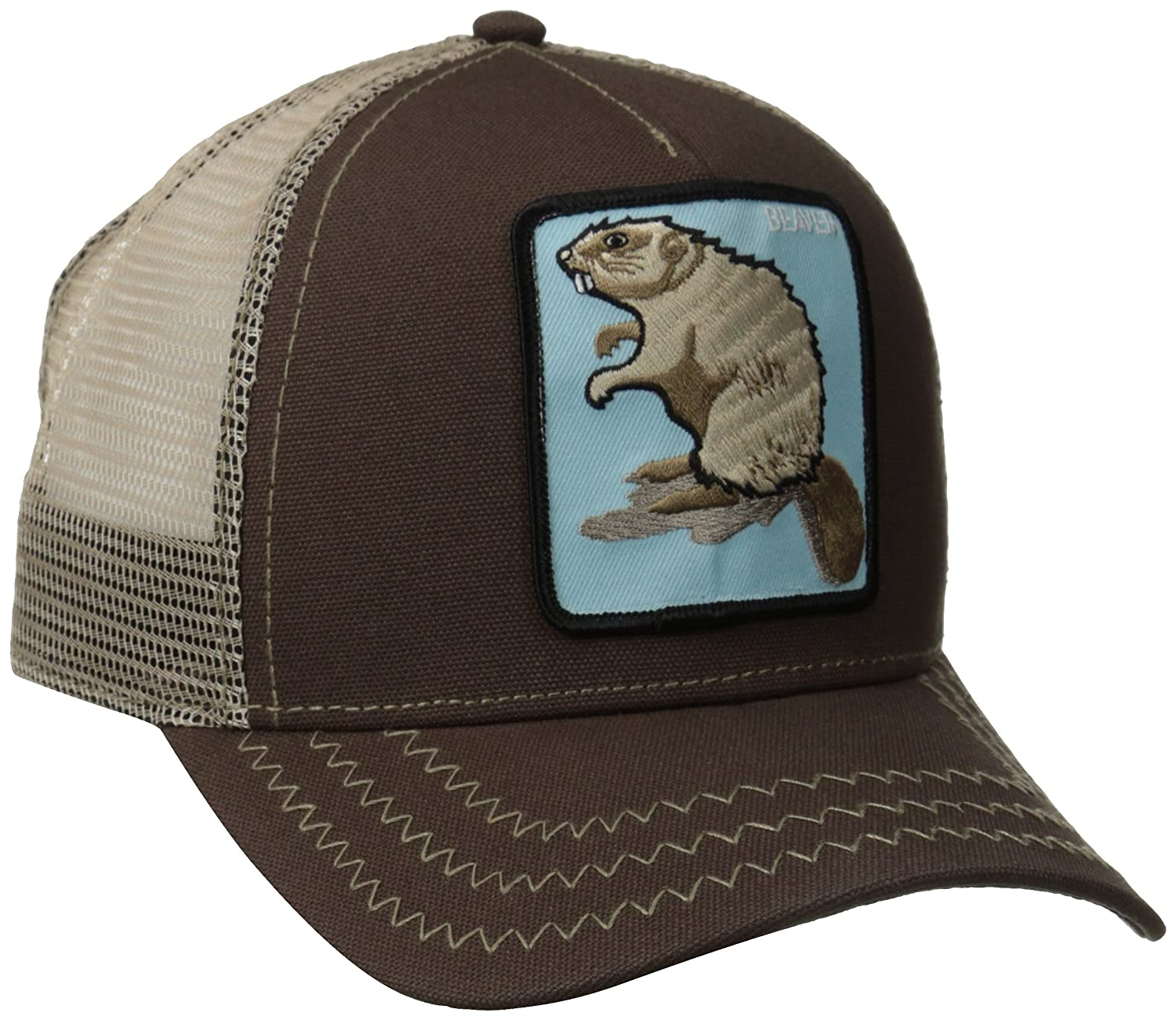 cad492df48ec0 Goorin Bros. Men's Animal Farm Baseball Dad Hat Trucker, Brown, One Size at  Amazon Men's Clothing store: