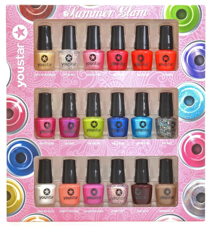 youstar 18er Nagellack Set - Summer Colours: Amazon.de: Beauty