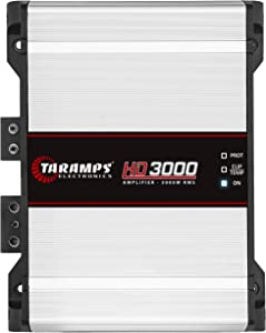 Taramp's HD 3000 2 Ohms Class D Full Range Mono Amplifier