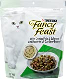 Fancy Feast Purina With Ocean Fish & Salmon and Accents of Garden Greens Gourmet Cat Food
