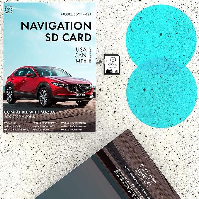 2019-2020 Mazda CX-30 Navigation SD Card BDGF66EZ1 w Free Key ...