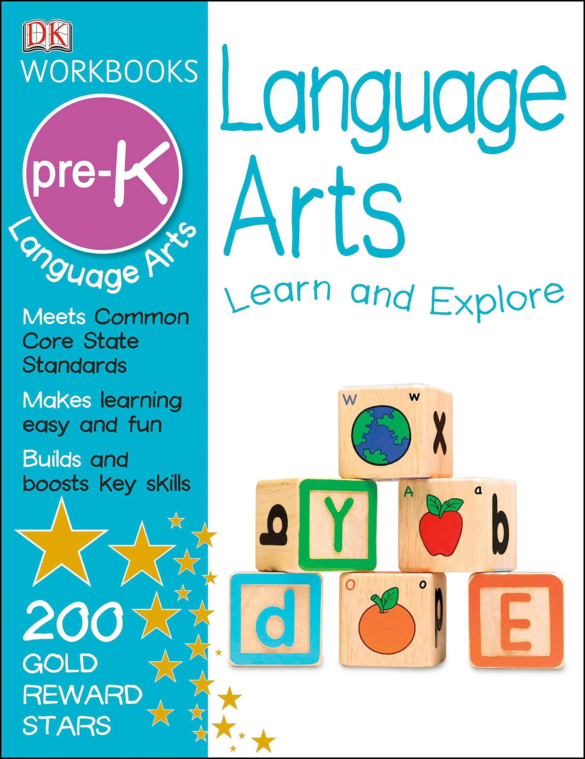 DK Workbooks: Language Arts, Pre-K: DK: 9781465417367: Amazon.com: Books