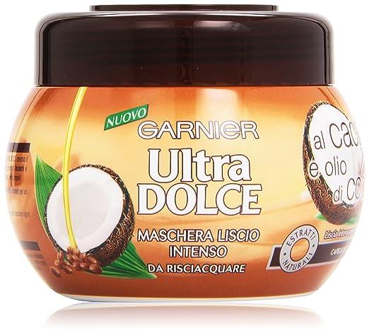 3 opinioni per Garnier Ultra Dolce al Cacao e Olio di Cocco Maschera Lisciante per Capelli