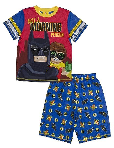 Amazon.com: LEGO Big Movie Batman-Robin - Pijama de 2 piezas ...
