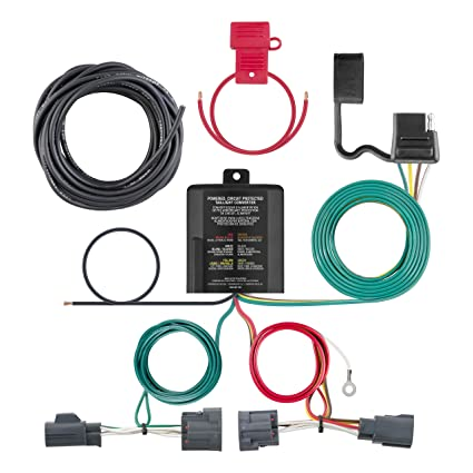 amazon com curt manufacturing 56334 black custom wiring harness rh amazon com Custom Auto Wiring Kits Custom Auto Relay Wiring