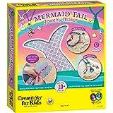Creativity for Kids Mermaid Tail Jewelry Maker - Create 10+ Jewelry Pieces