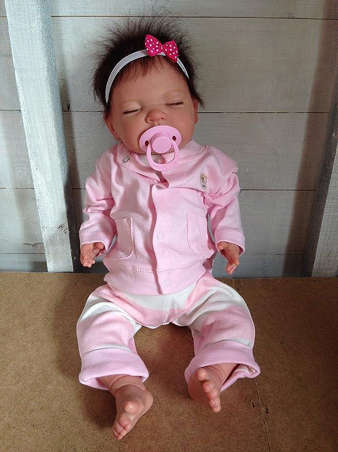 Amazon.es: Reborn Baby Girl Muñeca Penny, Heavy, 20 cm de largo ...