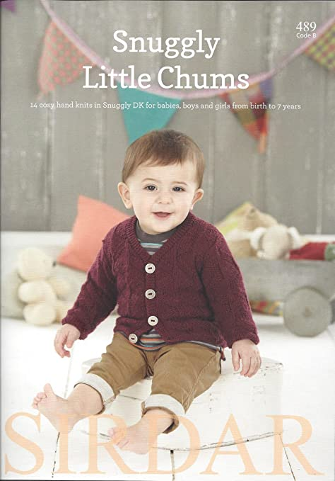 Sirdar Knitting Pattern Book 489 Snuggly Little Chums Amazon