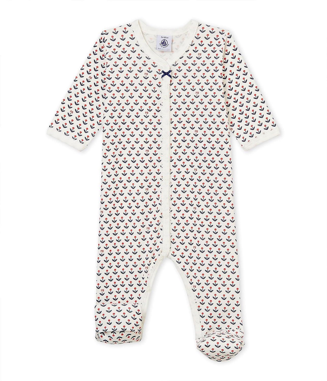 Petit Bateau Baby-Mä dchen Schlafstrampler 4452301