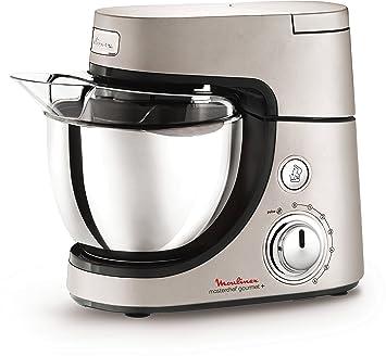 Moulinex - QA603H Masterchef Gourmet+ Robot de cocina, 900 W, 7 funciones, metal fundido a presión: Amazon.es: Hogar