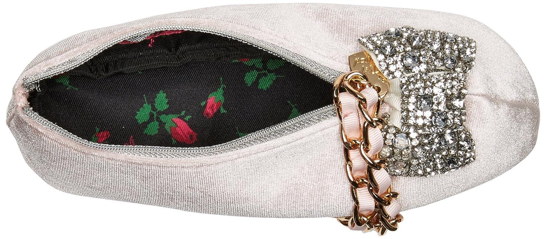 Betsey Johnson Ballet Slipper Kitch Wristlet Clutch