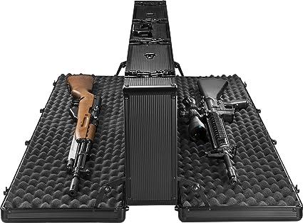 amazon com barska bh11982 loaded gear ax 400 hard rifle case