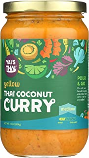 product image for Yais Thai, Curry Yellow Coconut, 16 oz