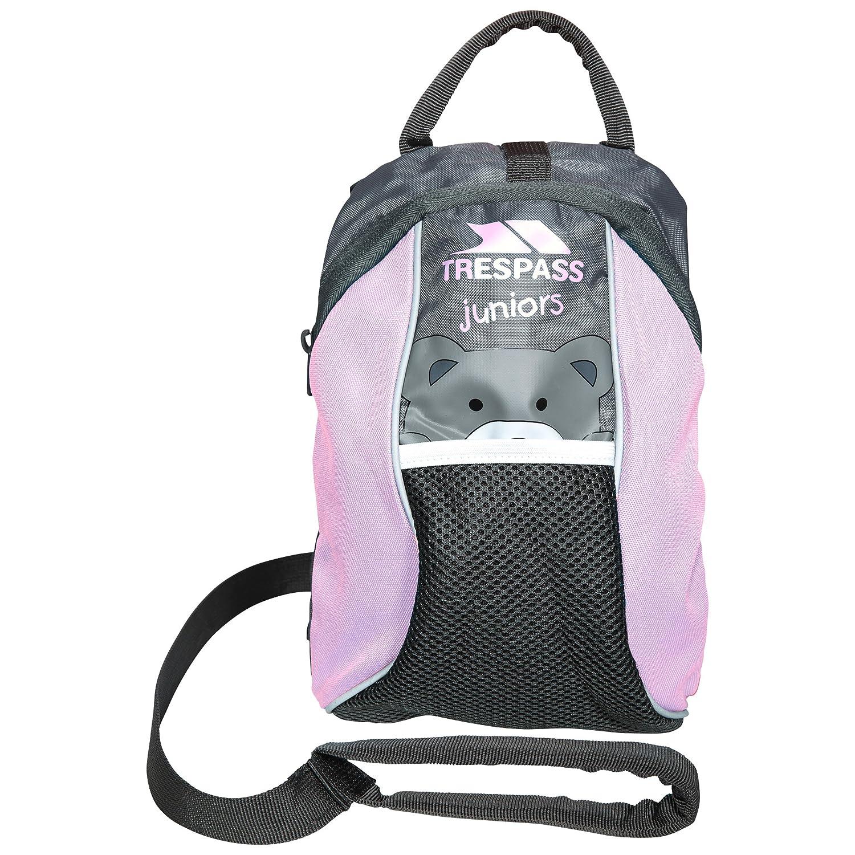 Kinderbackpack mit Laufgurt Rosa
