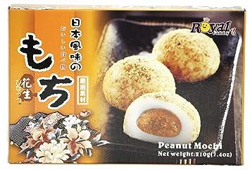 Royal Family Japanese Peanut Mochi - 7.4 Ounce / 210 Grams
