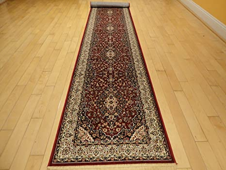 Amazon.com: Silk Red Rug Persian Area Rugs Traditional Rug Living ...