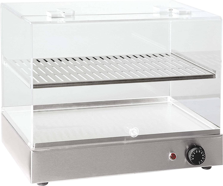 Norte Pro b50r climatizada encimera expositor para repostería ...