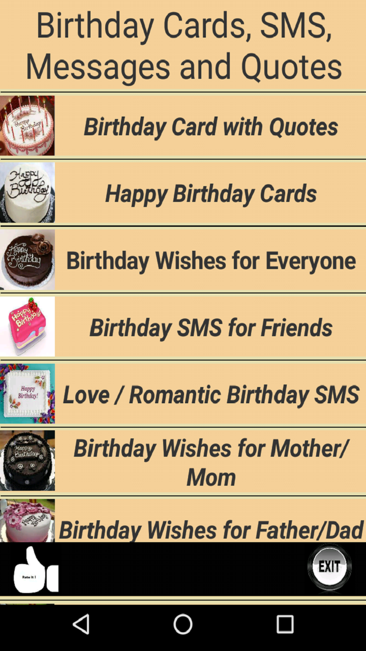 Amazon Happy Birthday Cards And Quotes Appstore For Android