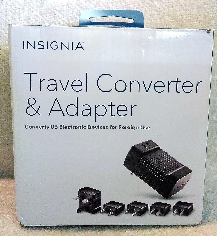 Amazon.com: Insignia Travel Converter and Adapter: Electronics