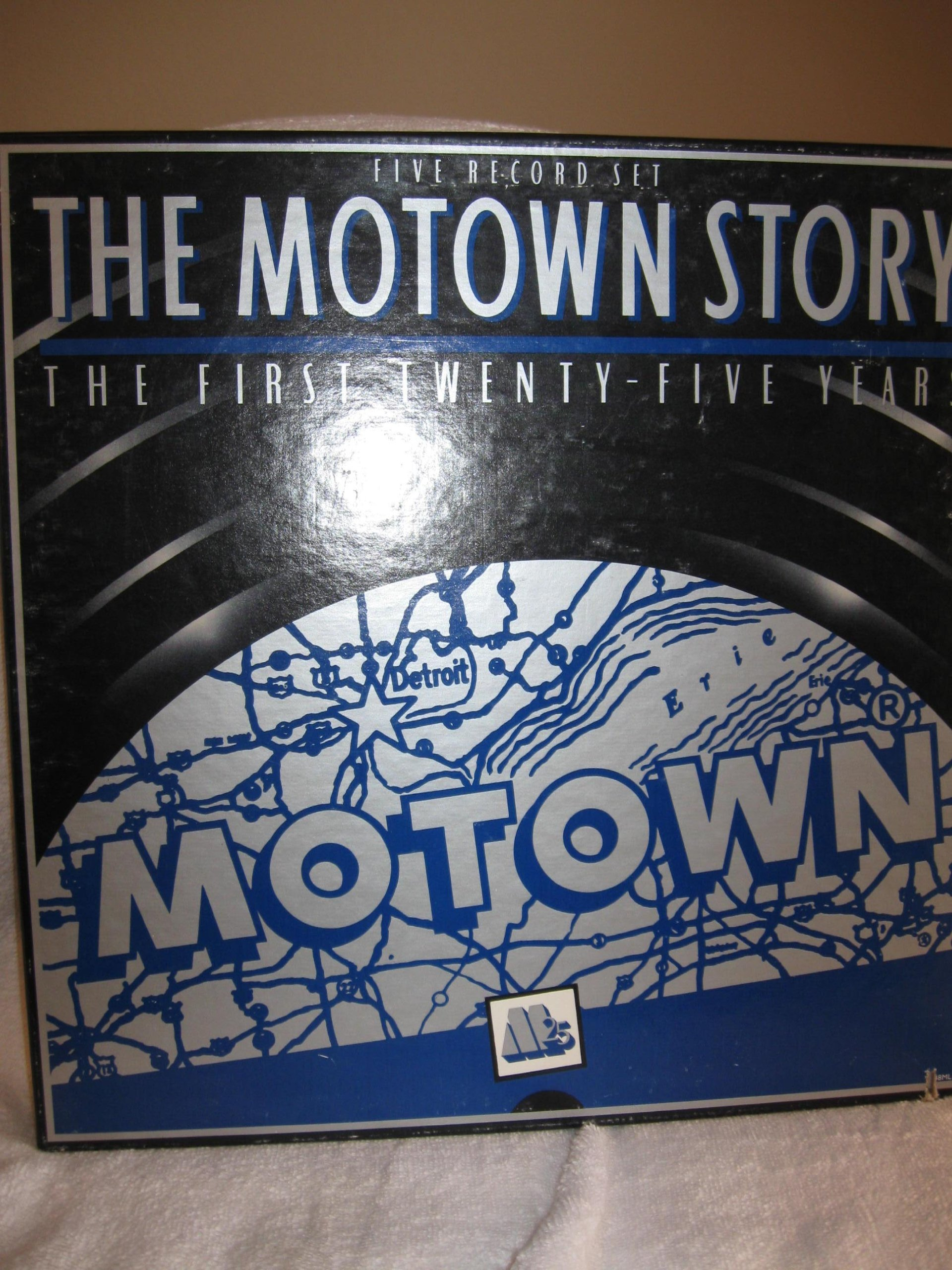 The Motown Story: First 25 Years [Vinyl] by Motown