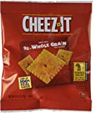 Cheez-It Original Baked Snack Cheese Crackers, 0.75 Ounce Snack Packs, 175 Count
