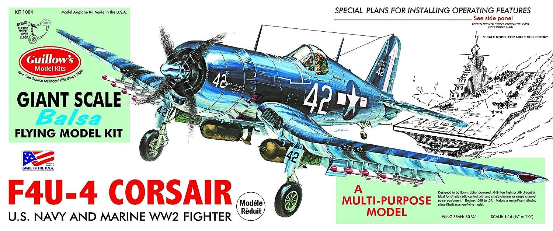 Corsair 3/4 scale plane kit
