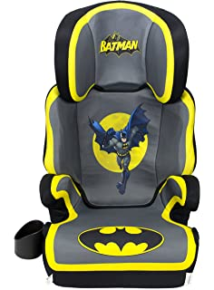 WB KidsEmbrace Belt Positioning High Back Booster Car Seat Transitions To Backless Batman