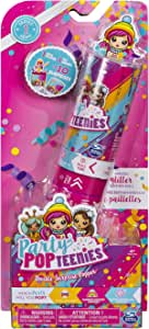 Party Popteenies Double Surprise Popper, with Confetti, Collectible Mini Doll and Accessories, for Ages 4 and Up