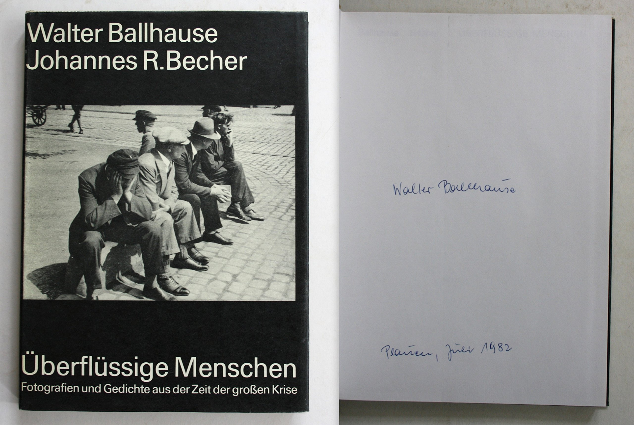 überflüssige Menschen Walter Ballhause Johannes R Becher
