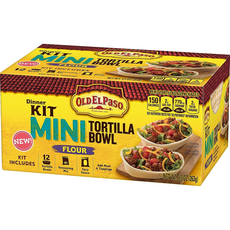 Old El Paso Mini Tortilla - Juego de vajilla (8 unidades ...
