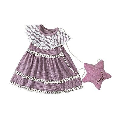 8bfe38b6eb3e Amazon.com  momobaby Baby Girl Dress Essentials Baby Outfits Tutu ...