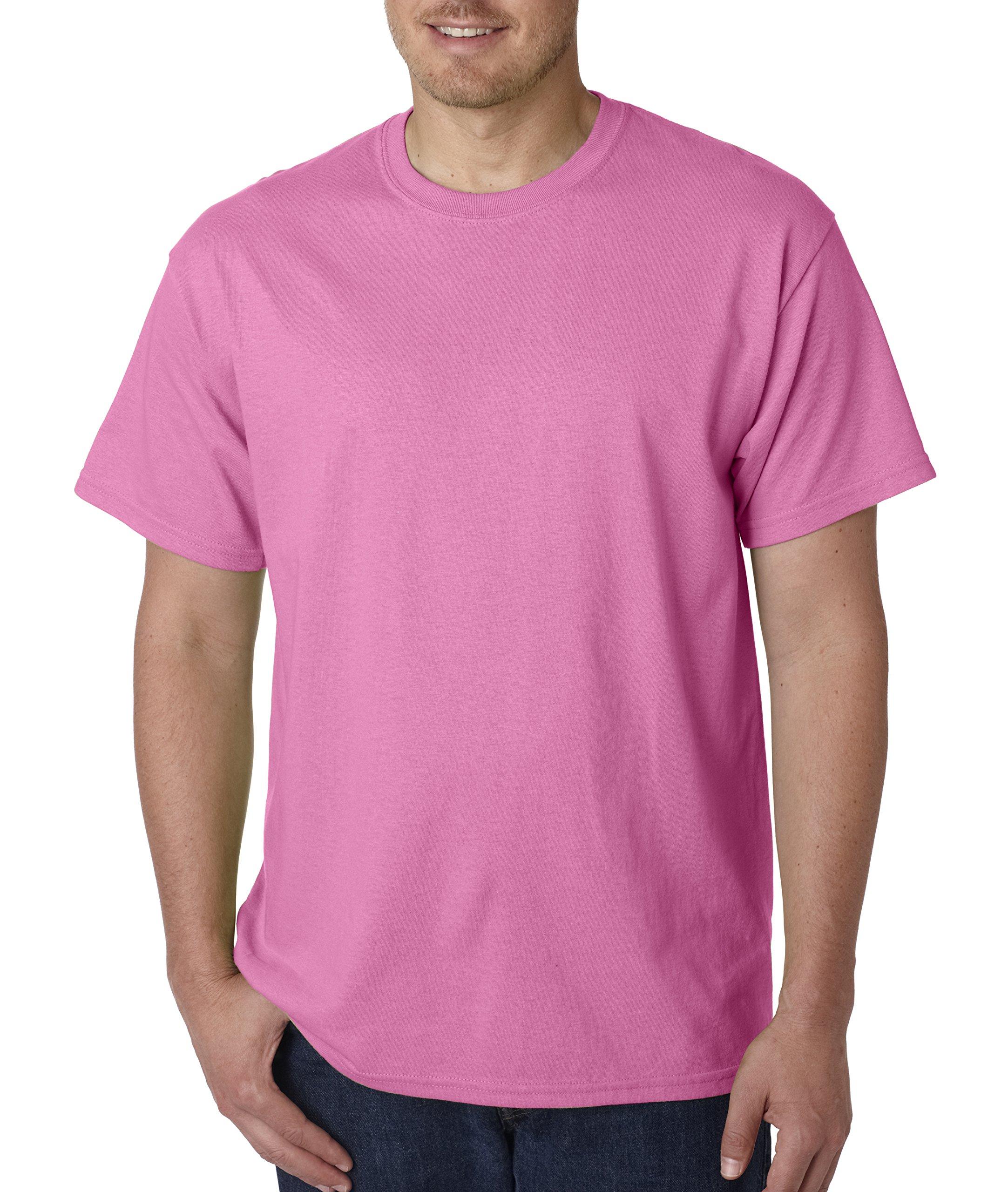 Gildan mens Heavy Cotton 5.3 oz. T-Shirt(G500)-AZALEA-3XL