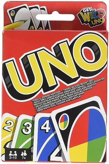 uno sfida gioco di carte