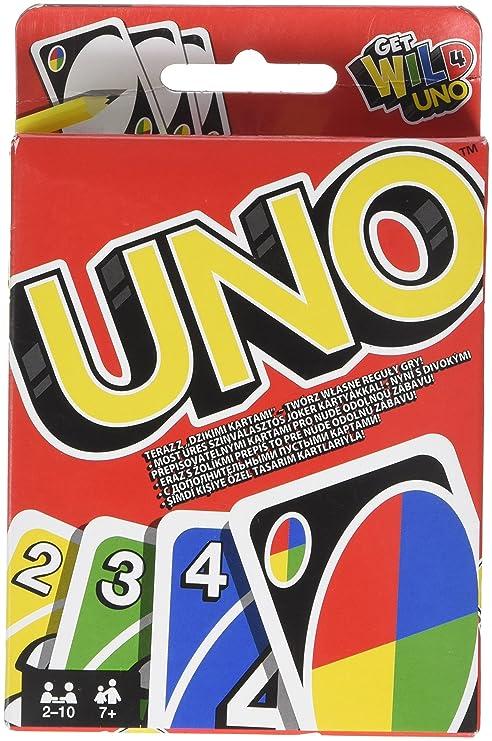 Juegos Mattel W2087 Disney Uno Multicolor Siva 226874 Amazon Es